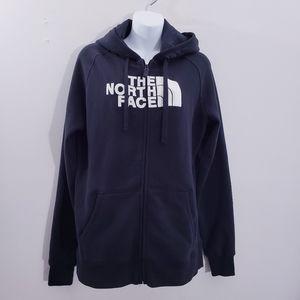 The North Face Black Logo Full Zip Hoodie